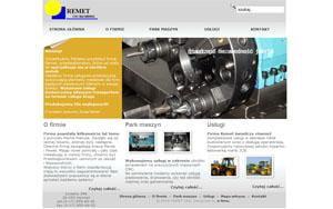 Remet - strona www