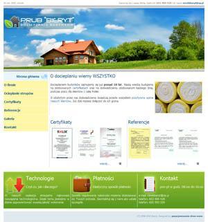 Bieryt - docieplenia elewacji i stropów