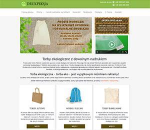 torebki ekologiczne drukpresja zdjęcie