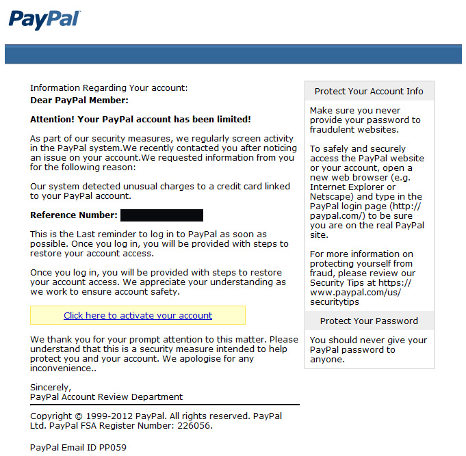 paypal mail